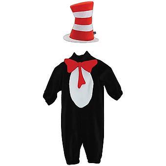 Cat In Hat Toddler Costume