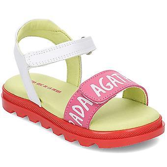 Agatha Ruiz De La Prada 192945 192945BBLANCOYCHICLE2528 zapatos de los niños
