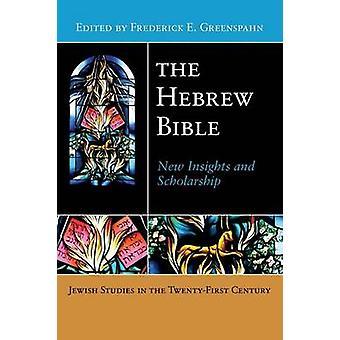 Heprean Bible uusia oivalluksia ja apuraha Greenspahn & Frederick e.