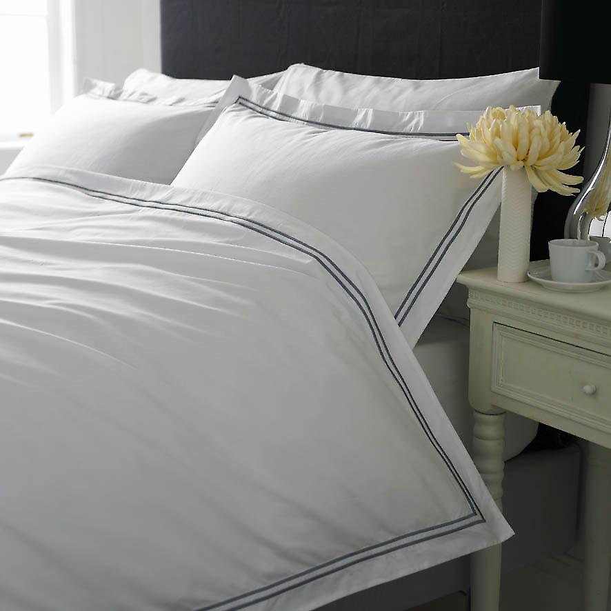 400 Thread Boutique Quality Egyptian Cotton Percale 2 Row Cord Range