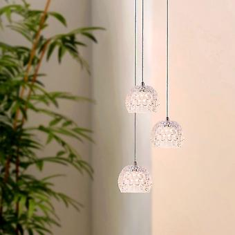 Hanger met keukeneiland plafond lichtpunt Dining tabel 3 hanger ronde luifel