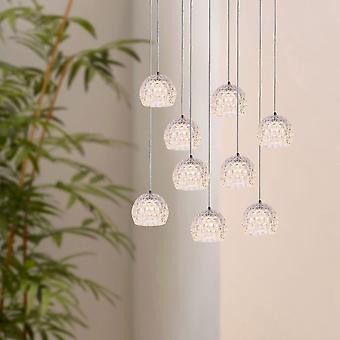Industrial pendentif lumière plafonnier Décor de Table à manger de Restaurant parachute