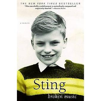 Broken Music by Sting - 9780385338653 Book