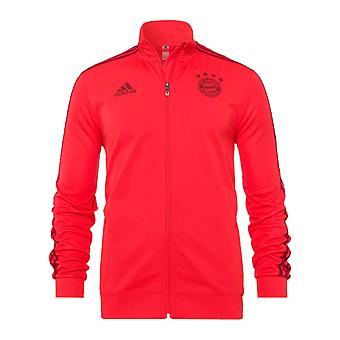 2019-2020 Bayern Munich Adidas Training Jacket (Red) - Kids