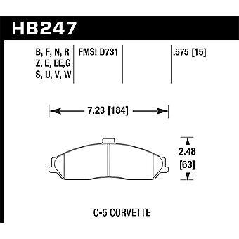Hawk Performance HB247Z.575 PC