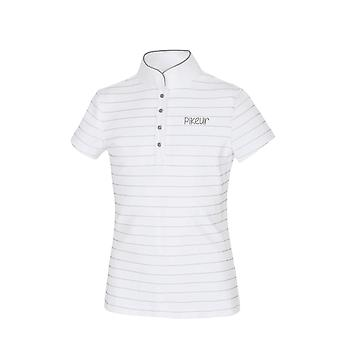 Pikeur Filly Girls Competition Shirt - White/silver