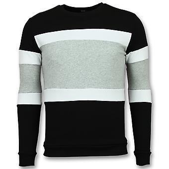 Striped Sweatshirt Mens-Online stripe sweaters for sale-grey