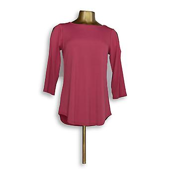 Joan Rivers Classics Collection Women's Top XXS Long Sleeve Knit Red A299415