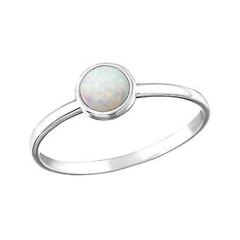 Redondo - plata de ley 925 Jewelled anillos - W25319X