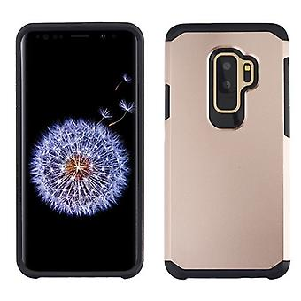ASMYNA Rose Gold/Black Astronoot Phone Protector Cover  for Galaxy S9 Plus