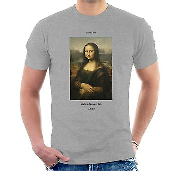 A.P.O.H Mona Lisa Made In Florence Men's T-Shirt