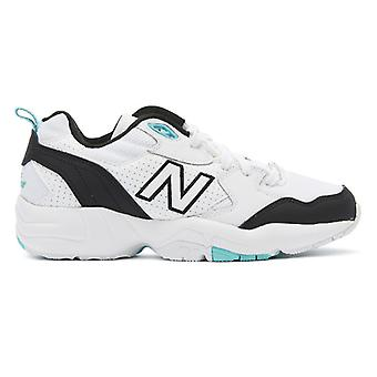 New Balance 708 Womens White / Black / Aqua Trainers