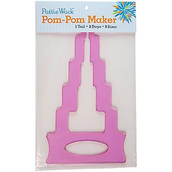 Pattiewack Pom-Pom Maker 11.75