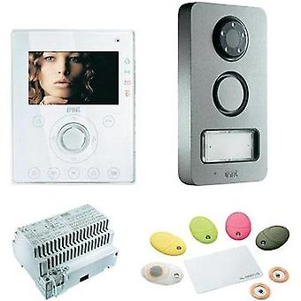 Video door intercom Corded Complete kit Grothe 74571