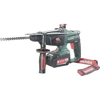 Metabo KHA 18 LTX SDS-Plus-Cordless hammer drill combo 18 V 5.2 Ah Li-ion incl. spare battery, incl. case