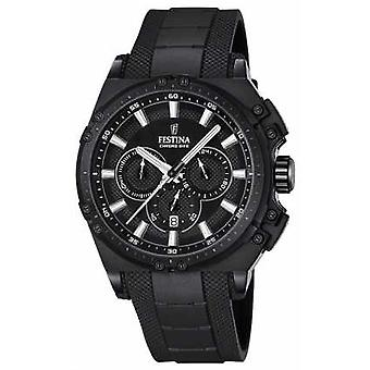 Festina 2016 Chronobike Mens Chronograph Black F16971/1 Watch