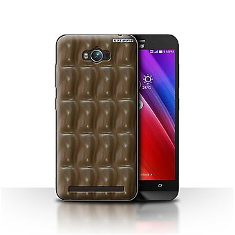 STUFF4 Case/Cover for Asus Zenfone Max ZC550KL/Galaxy Wave/Chocolate