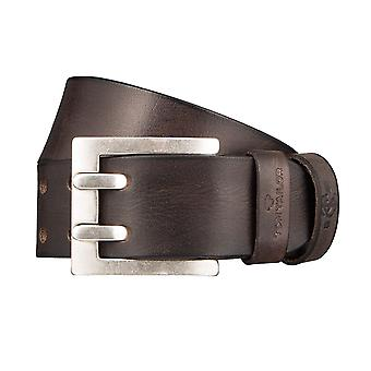 TOM TAILOR belt leather belts men's belts Brown 1235