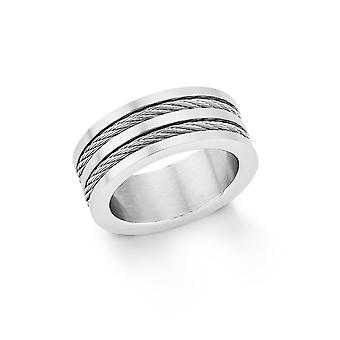 s.Oliver jewel men's ring stainless steel SO1456