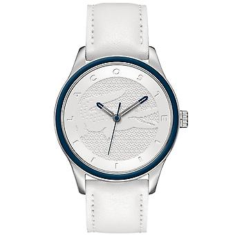 Lacoste women's watch wristwatch Victoria stainless steel leather 2000836