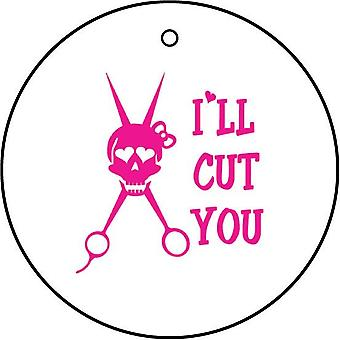I'll Cut You Car Air Freshener