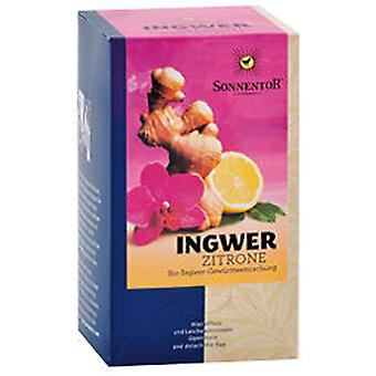 Sonnentor Infusion ingefær citron 20 tasker 1,5 gr Bio (Herbalist's, infusioner)