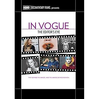 In Vogue: The Editor's Eye [DVD] USA import