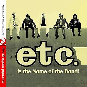 Etc. - Etc. Is the Name of the Band [CD] USA import