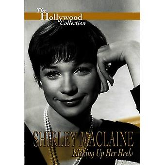 Shirley Maclaine - Kicking op hendes hæle [DVD] USA import