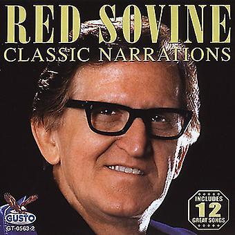 Rød Sovine - klassiske fortællinger [CD] USA importerer