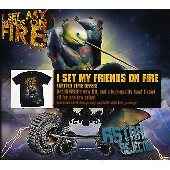 I Set My Friends on Fire - Astral Rejection Limited Edition CD & T- [CD] USA import