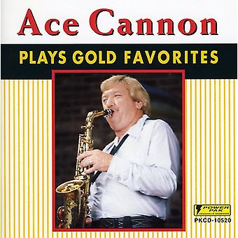 ACE Cannon - speelt Gold favorieten [CD] USA importeren