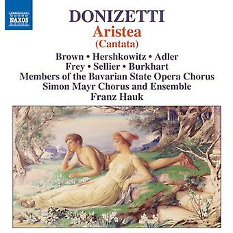 Donizetti - Aristea (Kantata) [CD] USA import