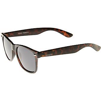Retro hele templet polariseret linsen Horn kantede solbriller 55mm