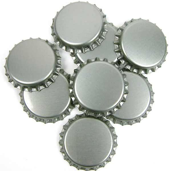 Crown Caps - Argent - 100
