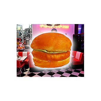 Fake products  plastic hamburger