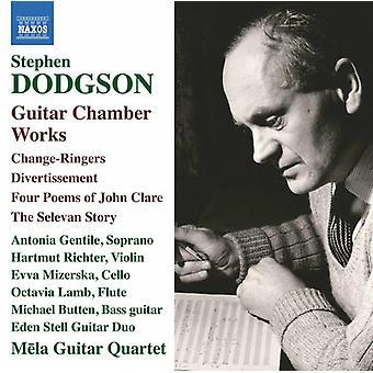 Dodgson / Gentile / Butten - Guitar Chamber Works [CD] USA import