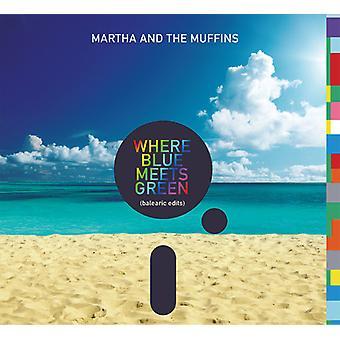 Martha & Muffins - hvor blå møder grønne (Baleariske redigeringer) [CD] USA import