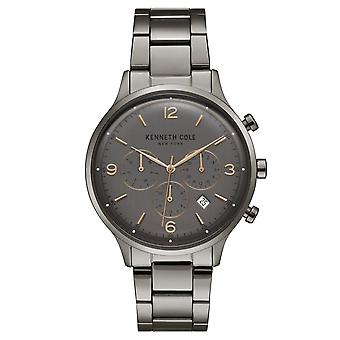 Kenneth Cole New York men's wrist watch analog quartz stainless steel KC15177005