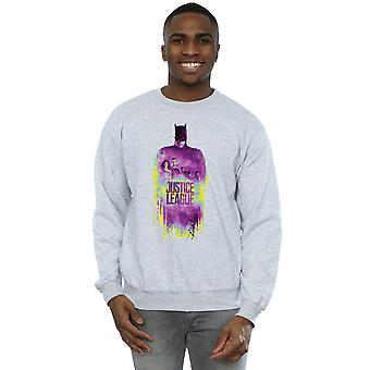 DC Comics Men's Justice League Movie Team Brushed Sweatshirt