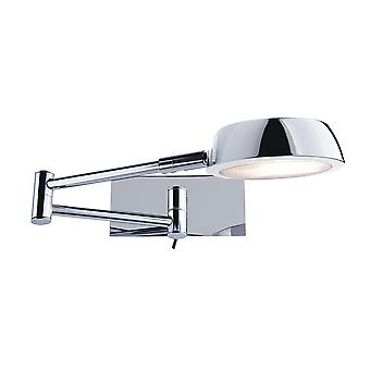 Searchlight 3863CC Chrome Low Energy Swing Arm Wall Light