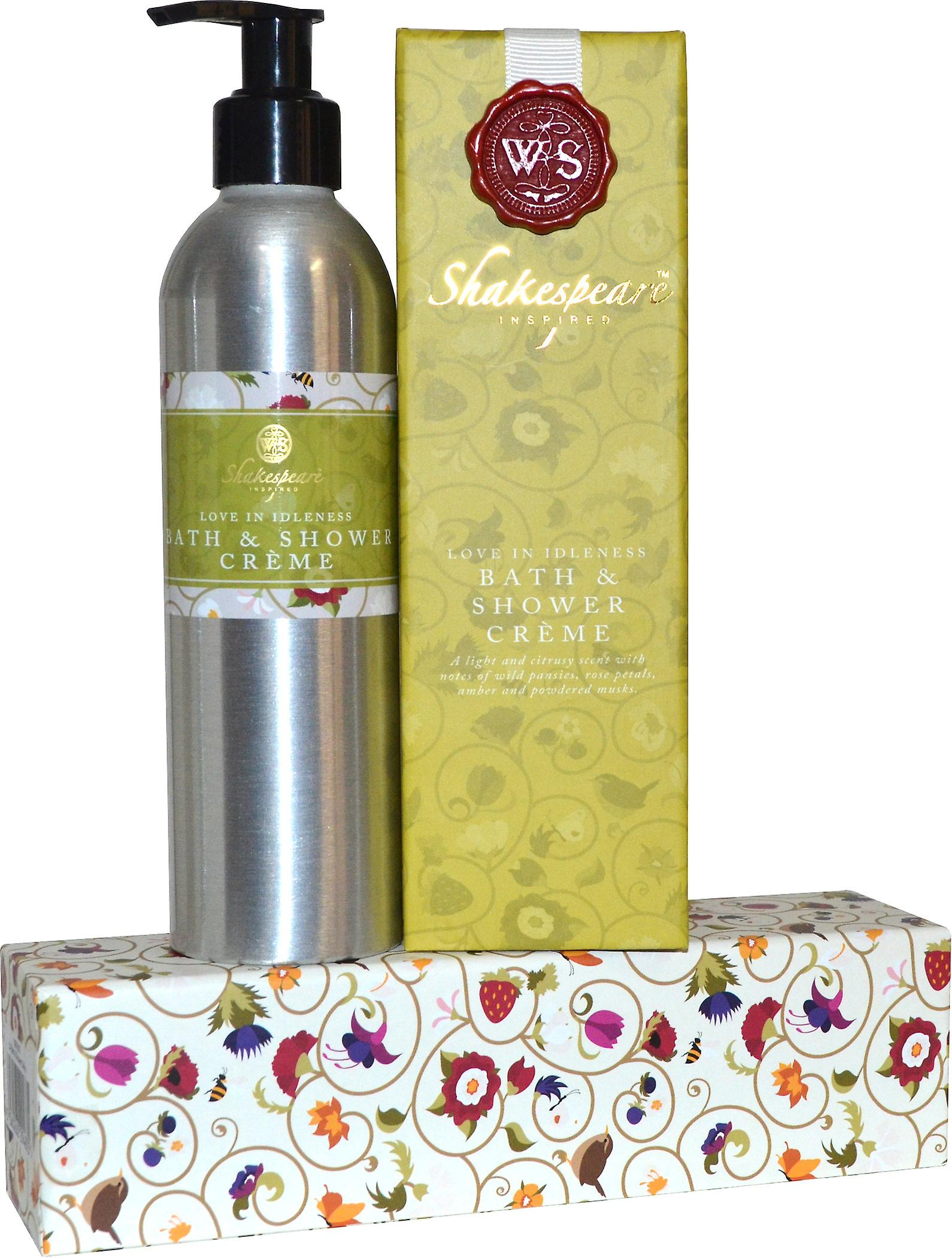 Shakespeare Inspired Love in Idelness Bath and Shower Creme 250ml