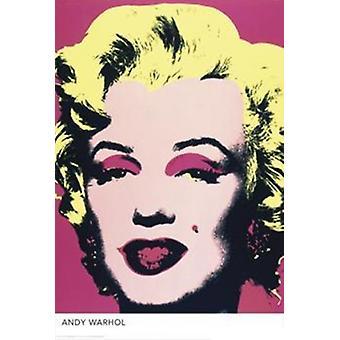 Marilyn Monroe plakat Poster Print przez Andy Warhol