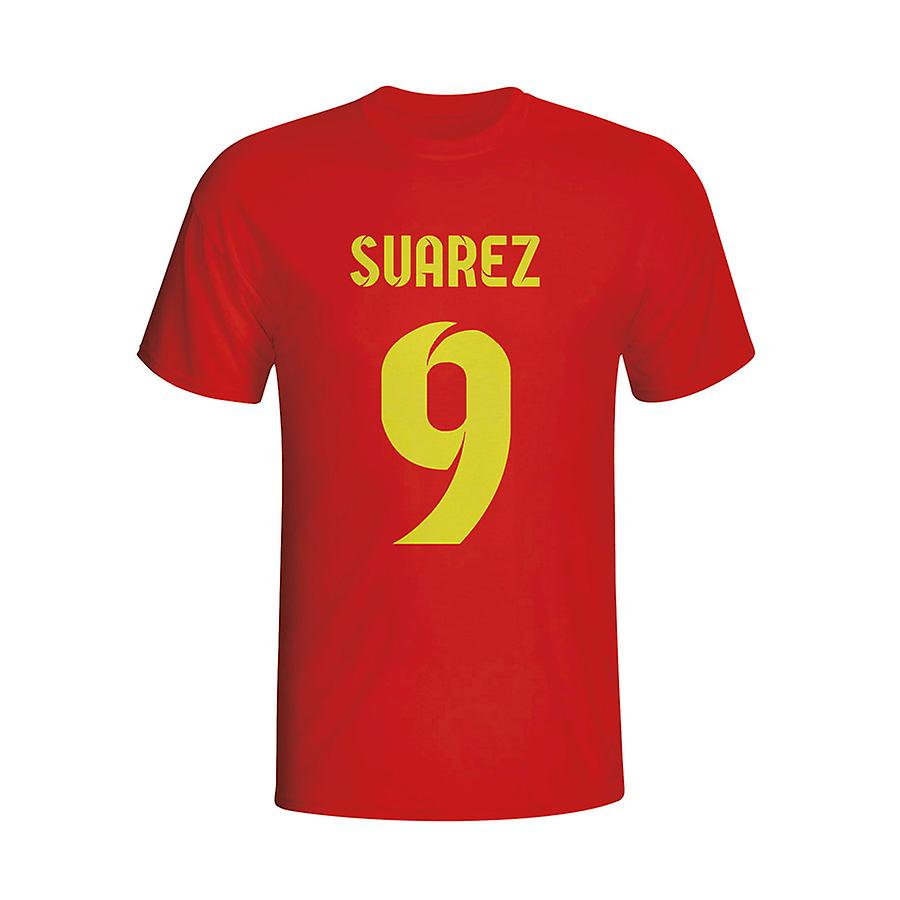 Luis Suarez Barcelona Hero T-shirt (red) - Kids