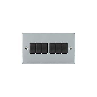 ハミルトン Litestat ハートランド ブライト クローム 6 g 10AX 2 方法ロッカー BL/BL
