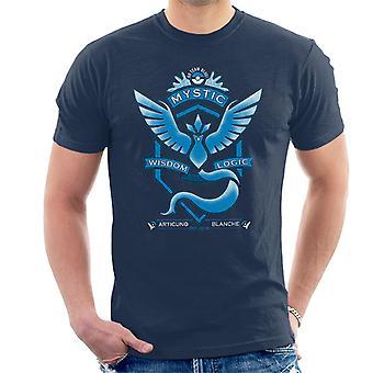 Pokemon Go Team Mystic Crest Men's T-Shirt