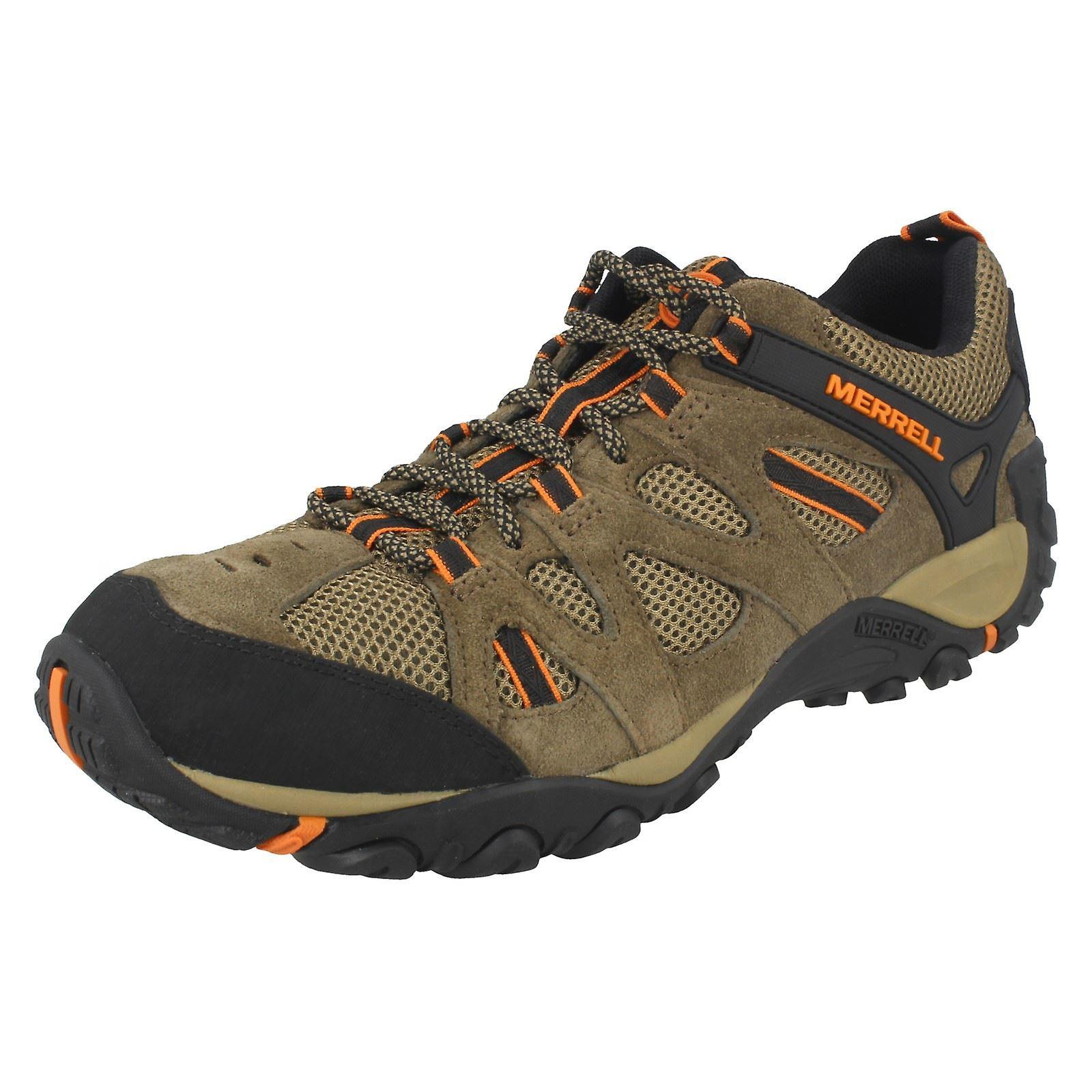 size 40 7cd37 e6515 s Merrell Walking chaussures Yokota Ascender évent évent évent J343718C -  Cantine/B. cuir Orange - UK taille 7,5 M - UE taille 41,5 - taille US 8  8baf29