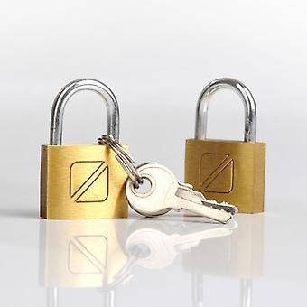 2 key locks. (2 x Padlock 20 mm)