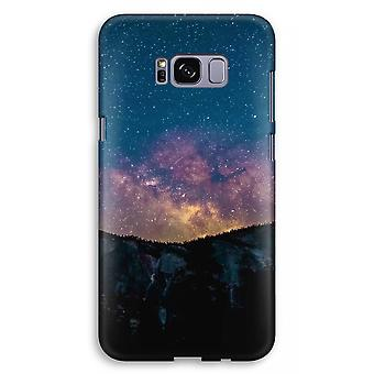 Samsung Galaxy S8 Plus Full Print Case (Glossy) - Travel to space