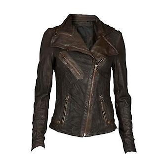 Alayna Womens Leather Jacket